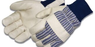 Liberty Gloves 0233 Blue Knit Wrist Insulated 3M Thinsulate Lined Premium Grain Pigskin Glove, Dozen