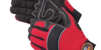 0915 Crimson Warrior Mechanic Glove, Pair