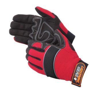 0915 Crimson Warrior Mechanic Glove, Pair
