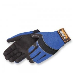 0916 BlueKnight Mechanic Glove, Pair