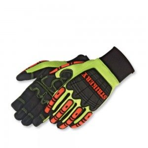 0950 Striker X Impact Mechanics Water Resistant Glove, Pair