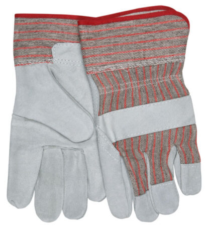 MCR 1200S  Economy Leather Palm, Striped, Fabric 2 1/2