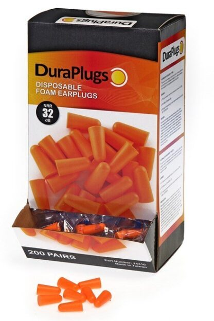 14310 Duraplug® Foam Earplugs Uncorded, 200ct