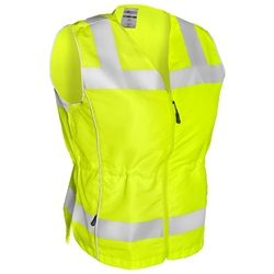 ML Kishigo 1521 Deluxe Ladies Class 2 Fitted Safety Vest - Yellow/Lime