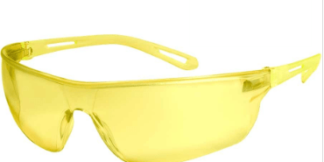 INOX 1705A Boomerang Amber Lens with Amber Frame