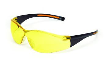 INOX 1715RTN/A F-III Amber Lens With Black/Orange Frame