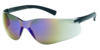 INOX F-II 1715RT/BM BLUE MIRROR LENS WITH BLACK TEMPLE TIPS