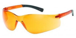 INOX F-II 1715RT/OR - ORANGE LENS WITH BLACK TEMPLE TIPS