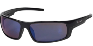 INOX 1724BM Enforcer Blue Mirror Lens With Black Frame
