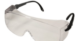 INOX 1751C Armour Clear Lens Black Temples