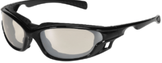 INOX 1773T/AF Gazer Indoor/Outdoor Lens (anti-fog) with Black Frame