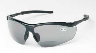 Cheaters Bifocal Gray Lens Reading Safety Glassess