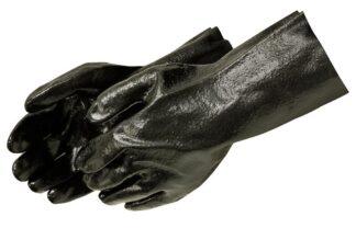 Liberty Gloves 2132 10 inch Gauntlet Semi Rough PVC Coated Gloves, Dozen
