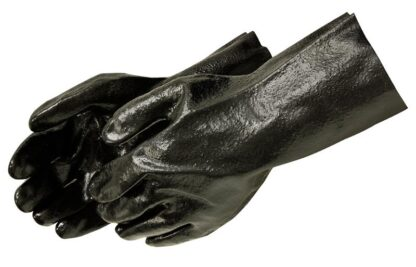 Liberty Gloves 2133 12 inch Gauntlet Semi Rough PVC Coated Gloves, Dozen