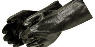 Liberty Gloves 2134 14 inch Semi Rough PVC Coated Gloves, Dozen