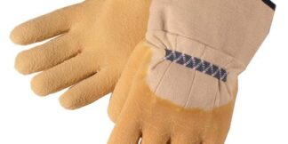 Liberty Gloves 2300 Standard Rubber with Canvas Cuff glove, Dozen