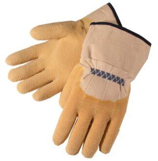 Liberty Gloves 2300Q Economy Rubber with Canvas Cuff Glove, Dozen