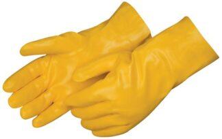 Liberty Gloves 2334JL Smooth Finish Yellow PVC  Glove with 14 inch Gauntlet, Dozen