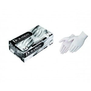 T2810W Disposable 4mil Powdered Free Latex Gloves, 100ct