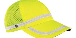 ML Kishigo 2854 Reflective Lime Baseball Cap