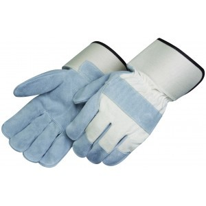 Liberty Gloves 3214 Kevlar Sewn Premium Side Leather, 4 1/2 inch Safety Cuff Leather Palm