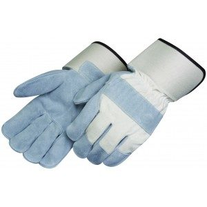 Liberty Gloves 3210 Kevlar Sewn Premium Side Leather, 2 3/4 inch Safety Cuff Leather Palm