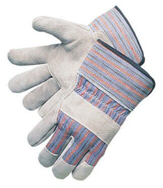 Liberty Gloves 3270 Regular Economy Full Leather Palm Gloves With Plasticized Cuff, Dozen