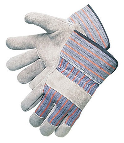 Liberty Gloves 3270 Regular Economy Full Leather Palm Gloves With Plasticized Cuff, Dozen