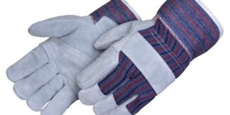 Liberty Gloves 3280Q Value Leather With Reinforced Palm Patch Glove with Starched Cuff, Dozen
