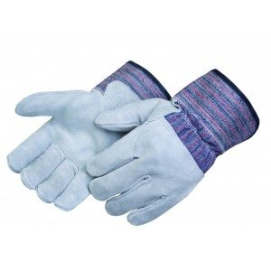 Liberty Gloves 3354 Leather Palm Glove with 3/4 Leather Back