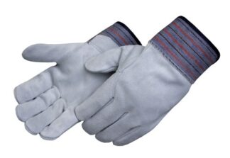Liberty Gloves 3454 Premium Select Leather Palm Glove with Full Leather Back with 4 1/2 inch, Dozen