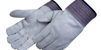 Liberty Gloves 3460Q Regular Leather Palm Glove with Full Leather Back with 2 1/2 inch, Dozen