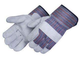 Liberty Gloves 3550 Premium Gray Double Leather Palm Gloves, Dozen