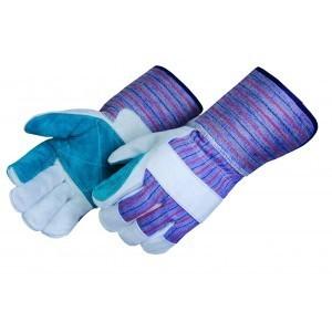 Liberty Gloves 3554 Premium Double Leather Palm Gloves 4 1/2 inch Cuff, Dozen