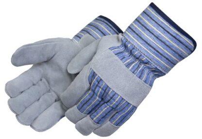 Liberty Gloves 3650 Red Jersey Foam Lined Split Cowhide Glove, Dozen