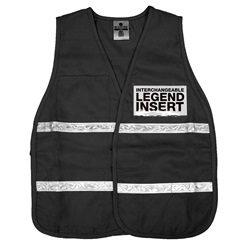 ML Kishigo 3702i Black Incident Command Vest