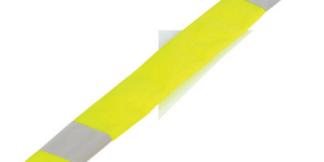 ML Kishigo 3901 Lime Dual Stripe Seat Belt Covers