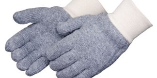 4123G/C Reversible 24oz Seamless Gray Terry Cloth Glove, Dozen