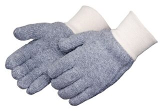 4123G/C Reversible 24oz Seamless Gray Terry Cloth Glove, Dozen