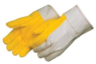 4211 Heavy Weight Golden Chore With Canvas Back Glove, With 2 1/2