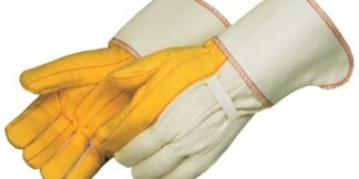 4214 Heavy Weight Golden Chore Glove, With 4 1/2