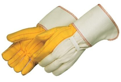 4214 Heavy Weight Golden Chore Glove, With 4 1/2