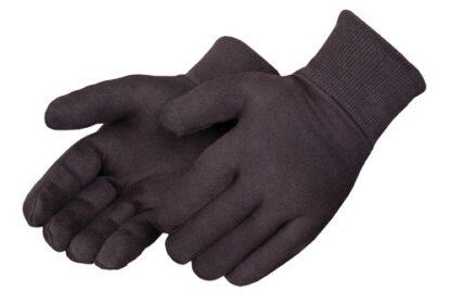 4508 Reversible Brown Jersey Glove, Dozen