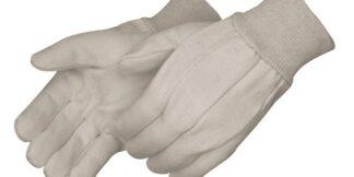 4510CR Heavy Duty 10oz Corduroy Cotton Canvas Gloves, Dozen