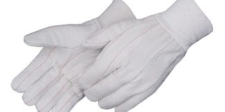 4518Q Double Palm 18oz Cotton Canvas Glove, Dozen