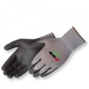 4639G/BK Ultra-Thin Black Polyurethane Coated Palm Glove, Dozen