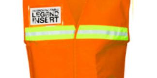 ML Kishigo 4712 Fluorescent Orange Incident Command Vest