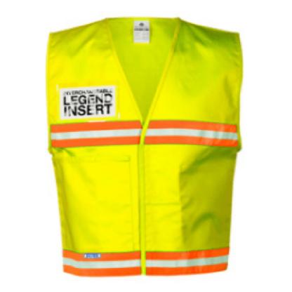 ML Kishigo 4713 Fluorescent Yellow Incident Command Vest