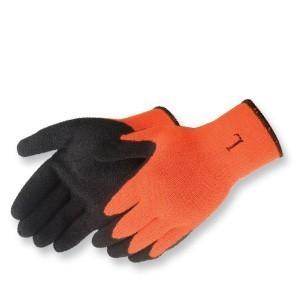 Liberty Gloves 4729HO A-Grip Black Latex Coated Palm Glove, Dozen