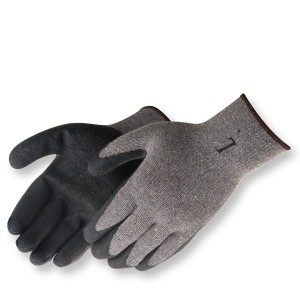 Liberty Gloves 4729SP Black Latex Coated Palm Glove, Dozen